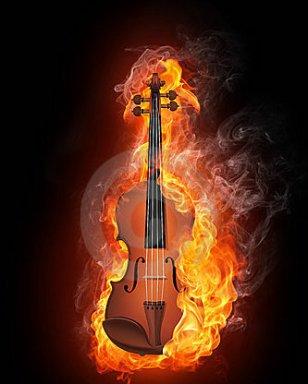 violinonfire